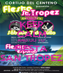 KEEP CALM AND GO TO FIESTA SAN TROPEZ - Personalised Poster A4 size