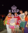 KEEP CALM AND GO TO IBIZA - Personalised Poster A4 size