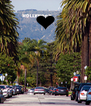 KEEP CALM AND GO To LA . - Personalised Poster A4 size