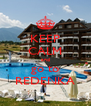 KEEP CALM and go to REDENKA - Personalised Poster A4 size