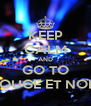 KEEP CALM AND GO TO ROUGE ET NOIR - Personalised Poster A4 size