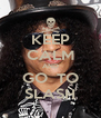 KEEP CALM AND GO  TO SLASH - Personalised Poster A4 size