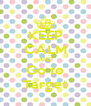 KEEP CALM AND Go to Target - Personalised Poster A4 size