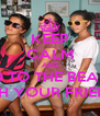 KEEP CALM AND GO TO THE BEACH WITH YOUR FRIENDS - Personalised Poster A4 size