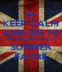KEEP CALM AND GO TO THE READING SCHOOL SUMMER FAYRE - Personalised Poster A4 size