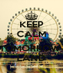 KEEP CALM AND GO TO TOMORROW- LAND - Personalised Poster A4 size