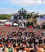 KEEP CALM AND GO TO TOMORROWLAND - Personalised Poster A4 size