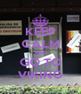 KEEP CALM AND GO TO VIKING - Personalised Poster A4 size