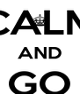 KEEP CALM AND GO VALIANTS - Personalised Poster A4 size