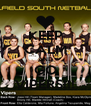 KEEP CALM AND GO VIPERS!!! - Personalised Poster A4 size