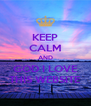 KEEP CALM AND GOD I LOVE THIS WEBSITE - Personalised Poster A4 size