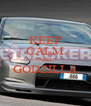 KEEP CALM AND GODZILLA  - Personalised Poster A4 size
