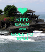 KEEP CALM AND GOES TO BALI - Personalised Poster A4 size