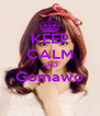 KEEP CALM AND Gomawo  - Personalised Poster A4 size
