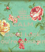 KEEP CALM AND Good Luck You're Amazing - Personalised Poster A4 size