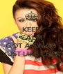 KEEP CALM AND GOT A SWAG JUST LIKE CHER - Personalised Poster A4 size