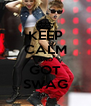 KEEP CALM AND GOT SWAG - Personalised Poster A4 size