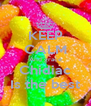KEEP CALM And grace Chidiac Is the best - Personalised Poster A4 size