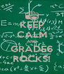 KEEP CALM AND GRADE6 ROCKS! - Personalised Poster A4 size