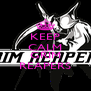 KEEP CALM AND GRIM REAPERS - Personalised Poster A4 size