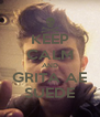 KEEP CALM AND GRITA AE SUEDE - Personalised Poster A4 size