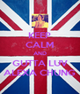 KEEP CALM AND GUTTA LUV ALEXA CHUNG - Personalised Poster A4 size