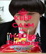 KEEP CALM AND H-BDay ShinDong - Personalised Poster A4 size