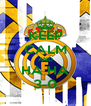 KEEP CALM AND HA HA 3-0 - Personalised Poster A4 size