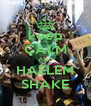 keep CALM AND HAELEM SHAKE - Personalised Poster A4 size