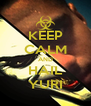 KEEP CALM AND HAIL YURI - Personalised Poster A4 size