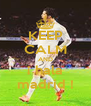 KEEP CALM AND ¡ hala madrid ! - Personalised Poster A4 size