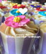 KEEP CALM AND Happy 4th Birthday Jennifer hindhaugh - Personalised Poster A4 size