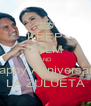KEEP CALM AND Happy Anniversary LA ZULUETA - Personalised Poster A4 size
