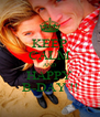 KEEP CALM AND HAPPY B-DAY !! - Personalised Poster A4 size