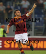 KEEP CALM AND HAPPY B-DAY  CAPITANO - Personalised Poster A4 size