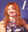 KEEP CALM AND HAPPY B'DAY JACK EMERSON - Personalised Poster A4 size