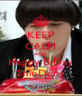 KEEP CALM AND Happy B-Day ShinDong - Personalised Poster A4 size