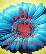 KEEP CALM AND HAPPY BIRTHDAY! - Personalised Poster A4 size