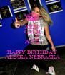 KEEP CALM AND HAPPY BIRTHDAY ALESKA NEBRASKA - Personalised Poster A4 size