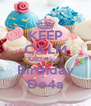 KEEP CALM AND Happy Birthday De4a - Personalised Poster A4 size