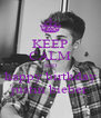 KEEP CALM AND happy birthday justin bieber - Personalised Poster A4 size
