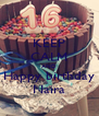KEEP CALM AND Happy birthday Naira - Personalised Poster A4 size