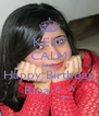 KEEP CALM AND Happy Birthday Rina ^_^ - Personalised Poster A4 size