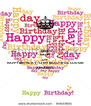 KEEP CALM AND HAPPY BIRTHDAY TO MY BEAUTIFUL COUSIN ANNABELL - Personalised Poster A4 size