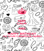 KEEP CALM AND HAPPY BIRTHDAY TO OUR FASHION GURU - Personalised Poster A4 size