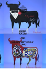 KEEP CALM AND HAPPY BIRTHDAY TORO - Personalised Poster A4 size