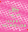KEEP CALM AND HAPPY MARRIAGE - Personalised Poster A4 size
