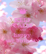 KEEP CALM AND happy  my birthday - Personalised Poster A4 size
