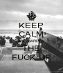 KEEP CALM AND HARDEN THE FUCK UP - Personalised Poster A4 size