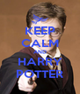 KEEP CALM AND HARRY POTTER - Personalised Poster A4 size